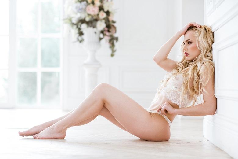 femme sexy en lingerie sexy